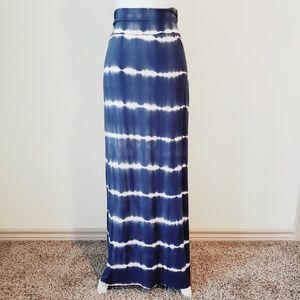 Papermoon Tie Dye Maxi skirt size XL
